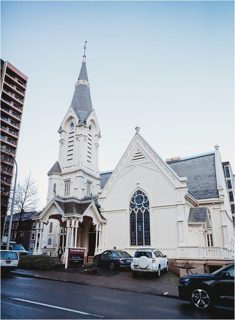 Old Church Portland