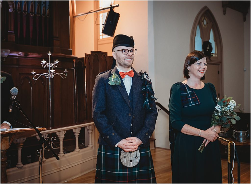 Oregon Scottish Wedding