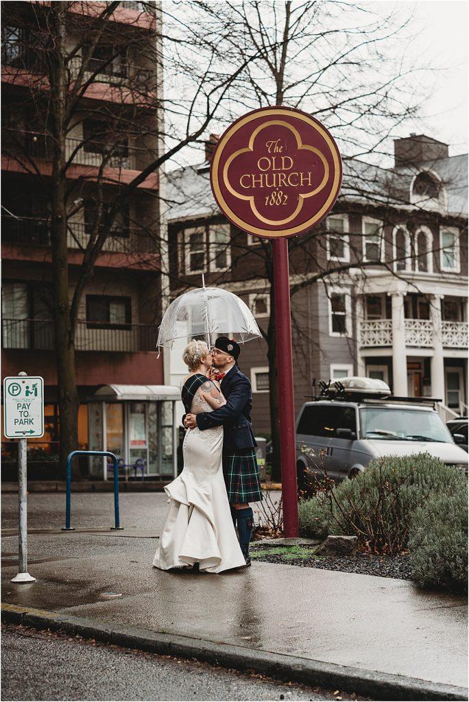 Old Church Portland Wedding