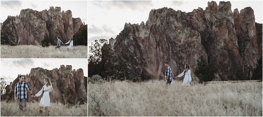 Smith Rock engagement shoot