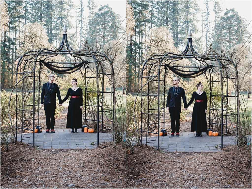 Avery Park Rose Garden Elopement