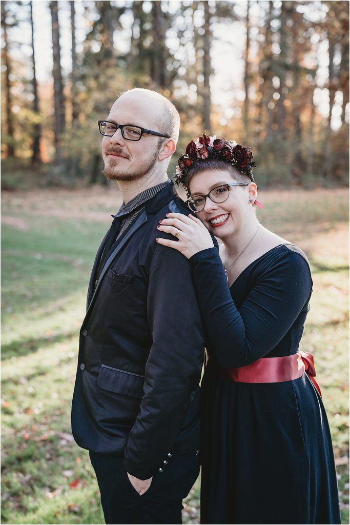 Elopement poses
