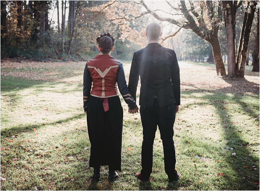 Wonder Woman and Batman wedding