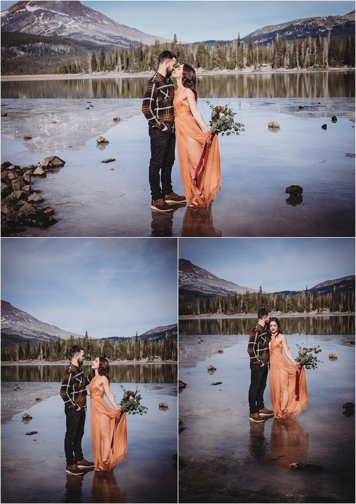 Ice Engagement Session