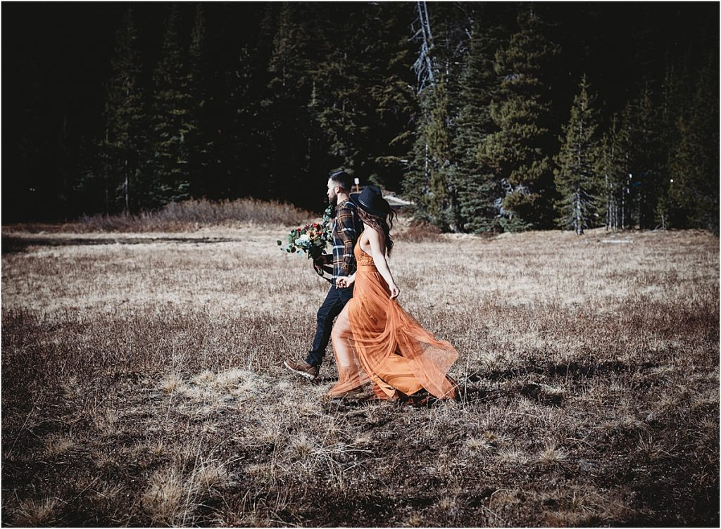 Sparks Lake & Todd Lake Engagement Session
