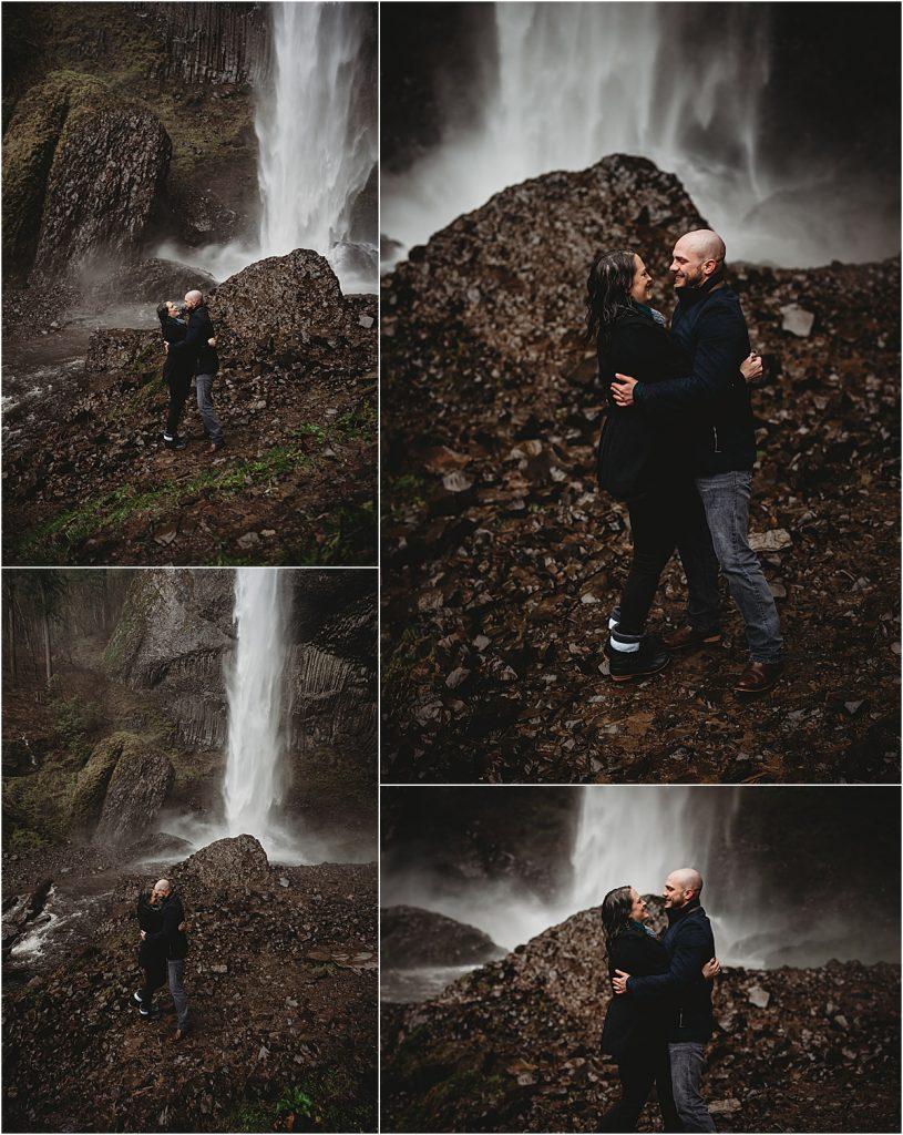 Columbia gorge waterfall
