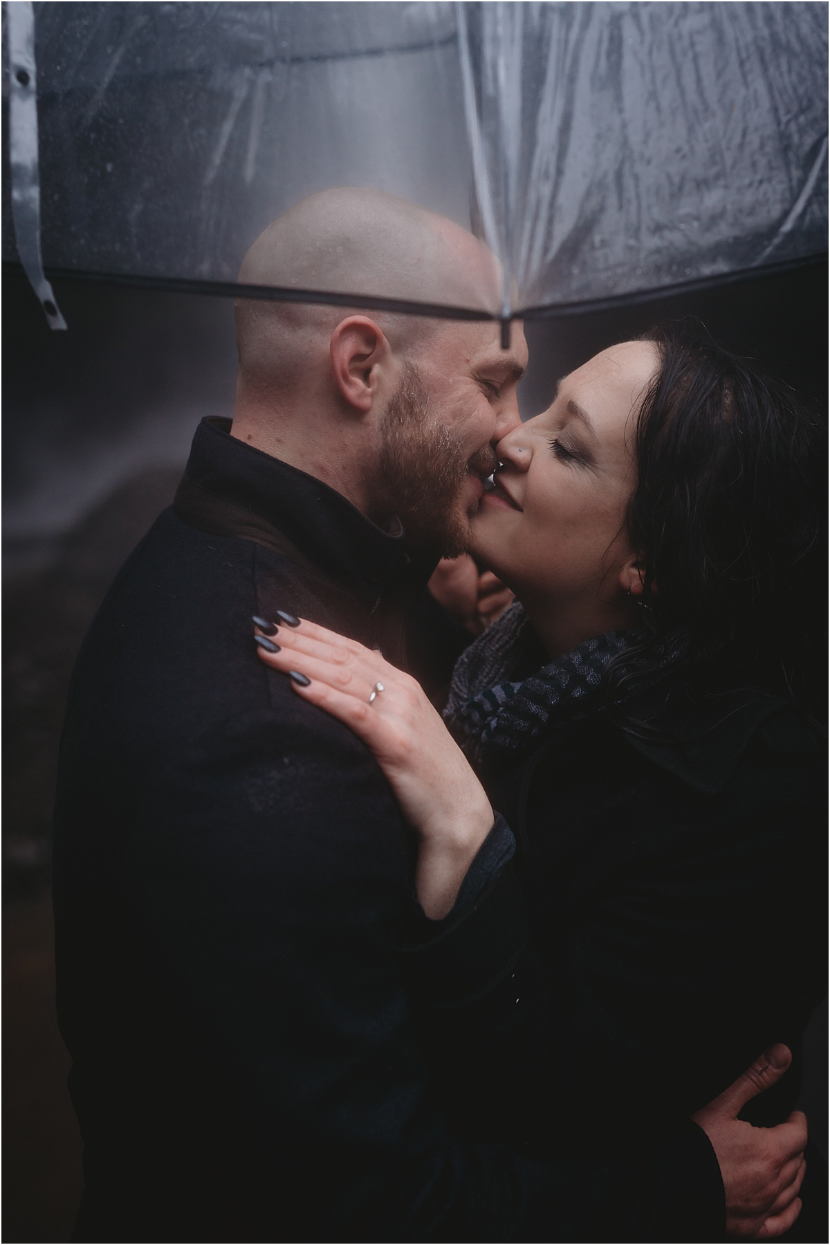 Oregon rain engagement