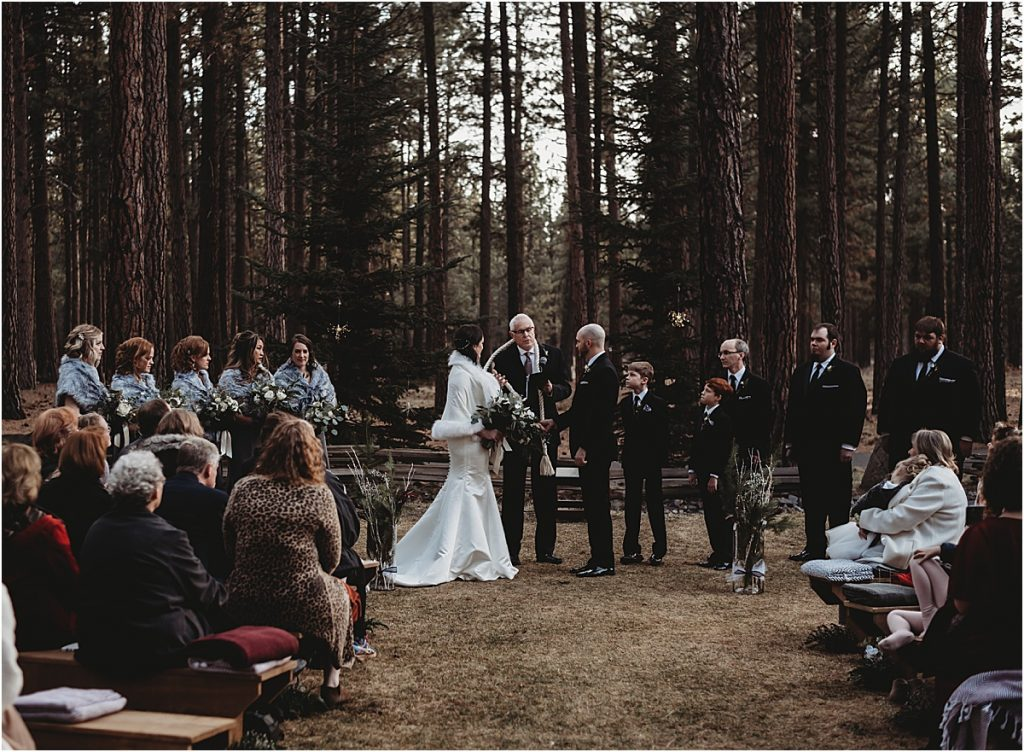 FivePine Lodge ceremony