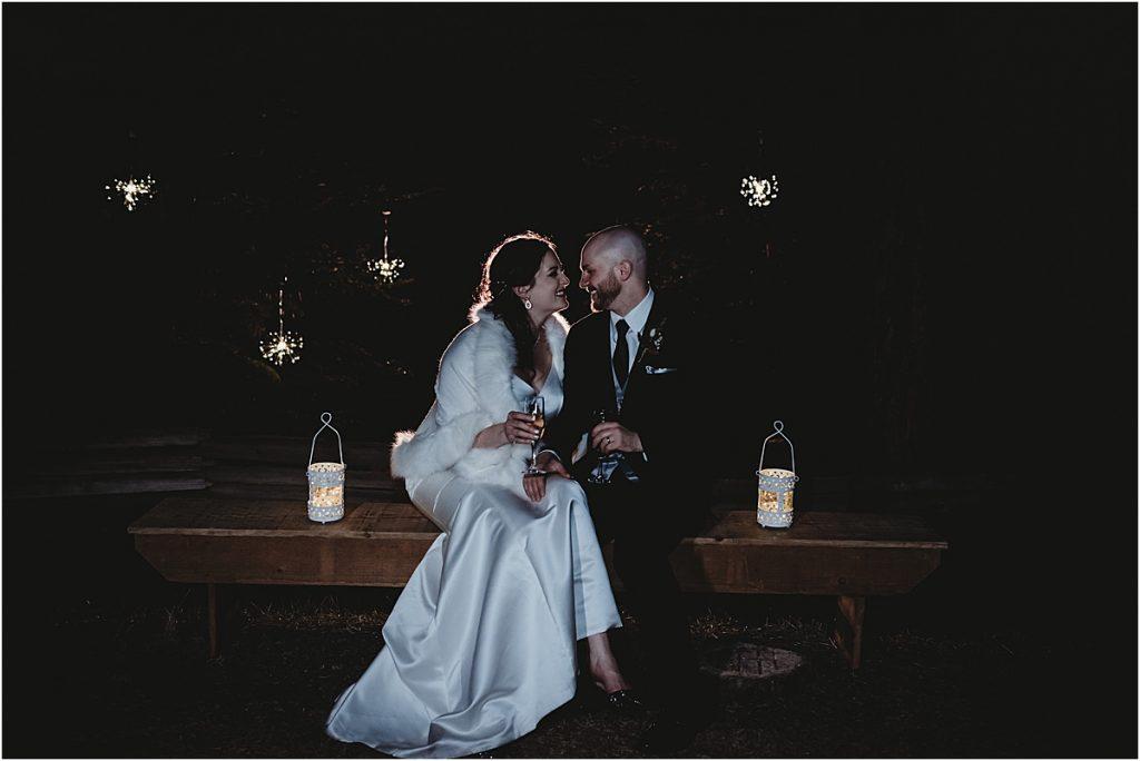 Wedding night photos