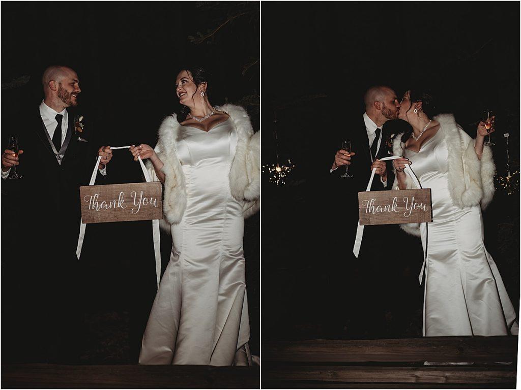 Wedding Thank you photo