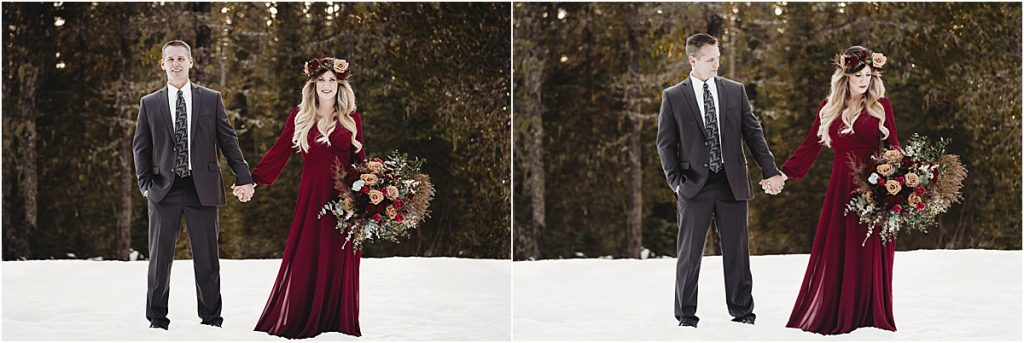 styled elopement adventure