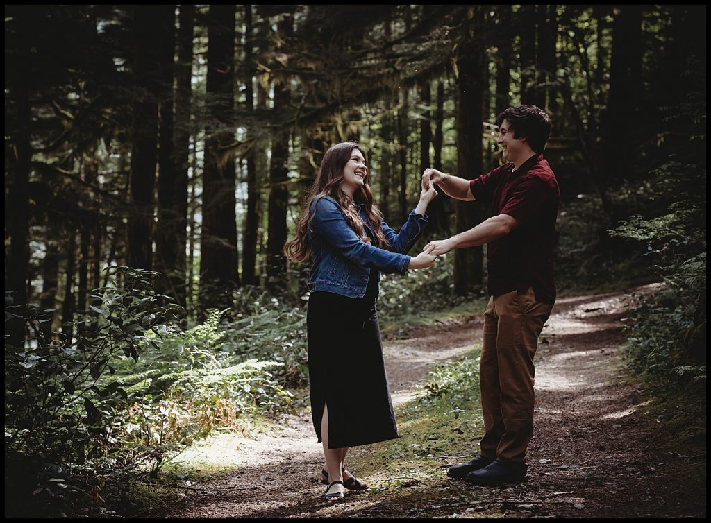 opal creek wilderness engagement session