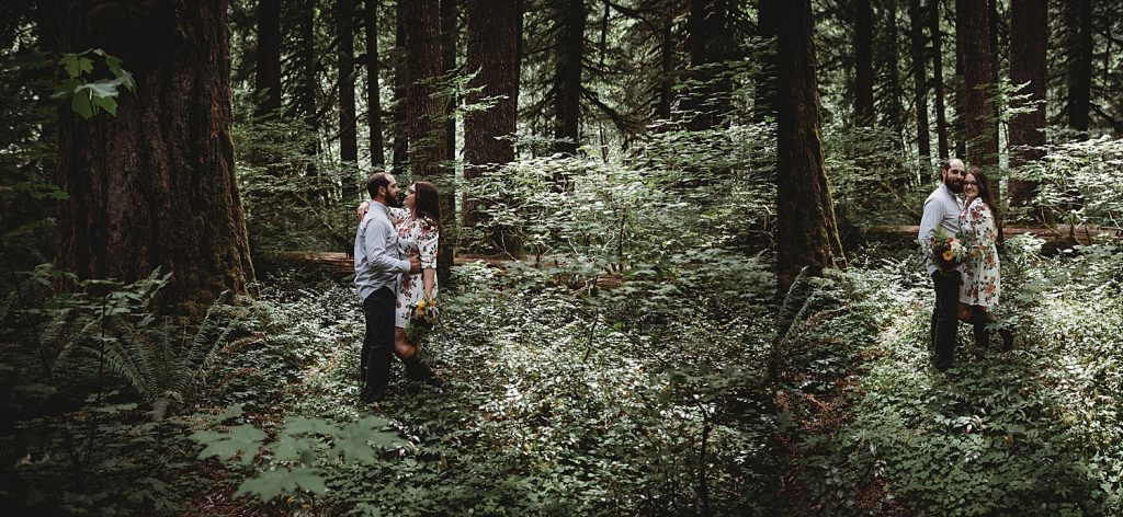 forest engagement poses
