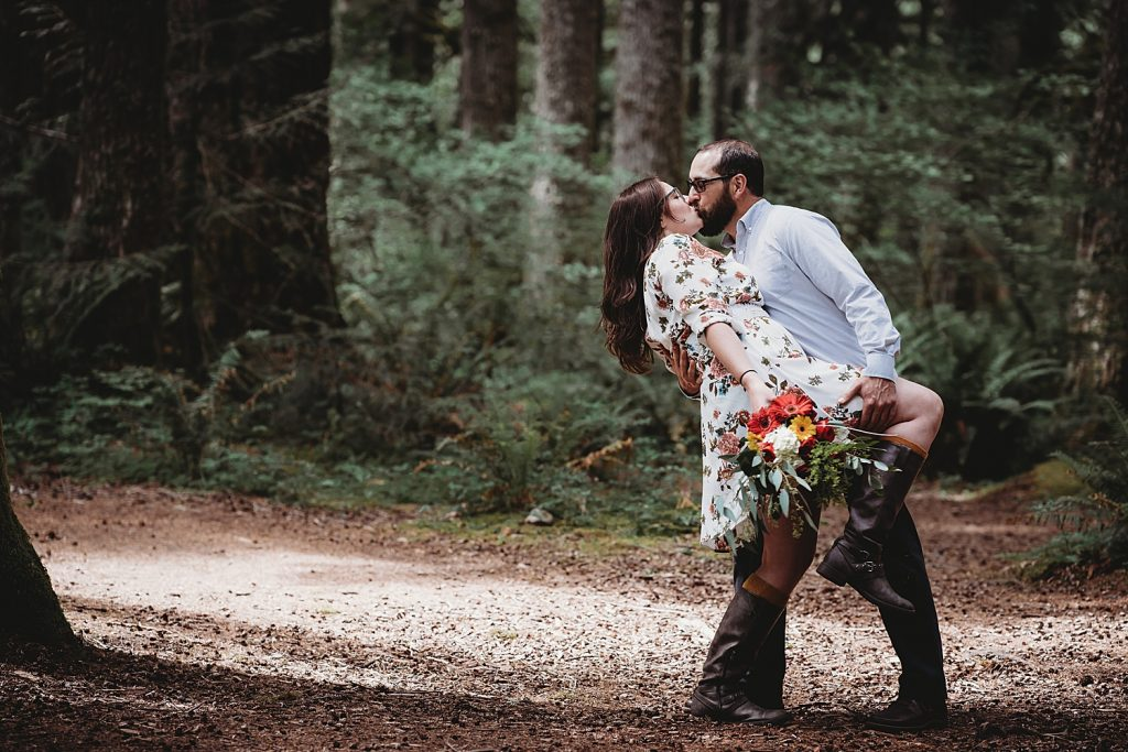 Salmon River Trail Elopement