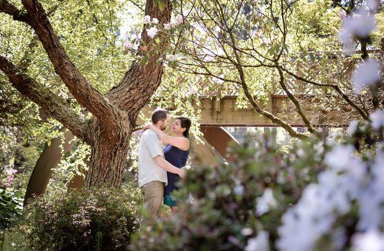 Rhododendron Garden engagement