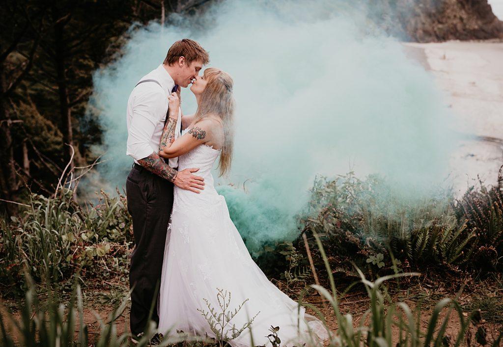 Oregon Coast After Bridal Photo Shoot