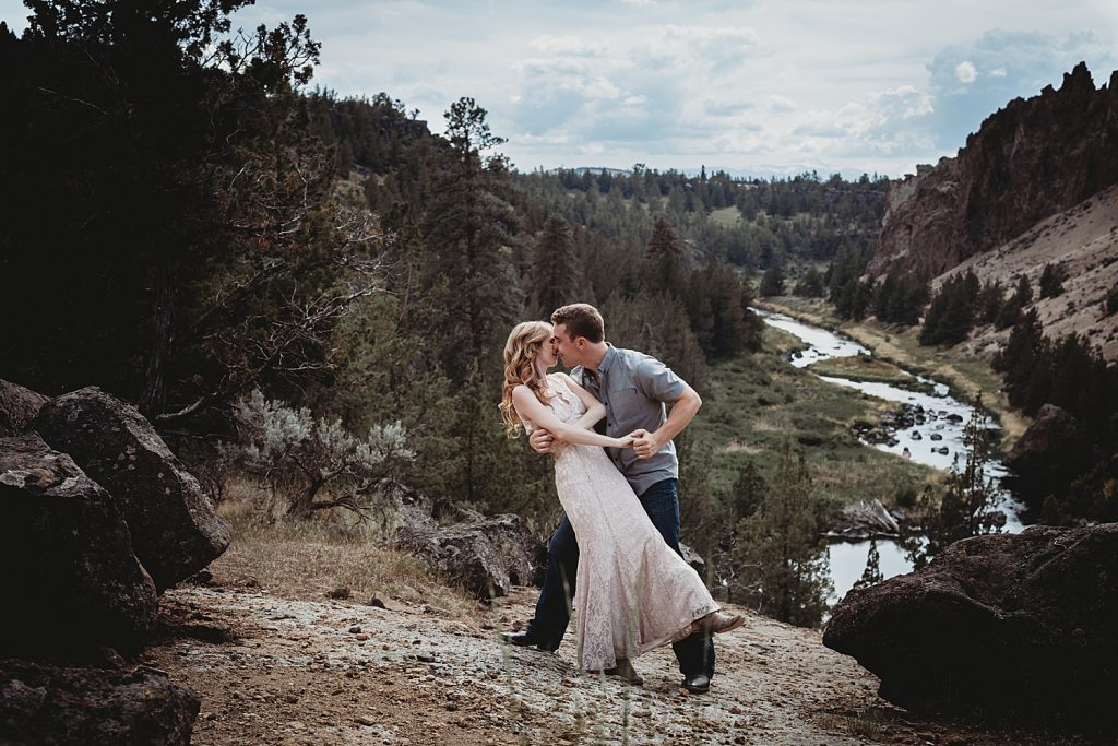 Smith Rock engagement