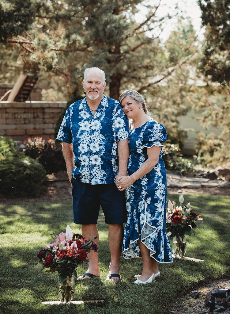 Eagle crest resort backyard wedding